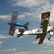Fighting Colours 2 - Fokker D. Vll - Nieuport Poster