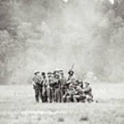 Fighting Through The Smoke Poster