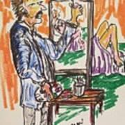 Figure Illustation Class Poster