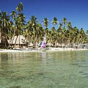 Fiji Resort Poster