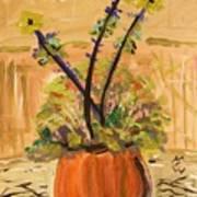 Filled Terra Cotta Vase Poster