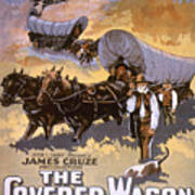 Film: The Covered Wagon Poster