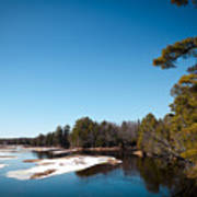 Final Winter Days On The Moose River Poster