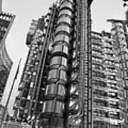 Finance The Lloyds Building In The City Poster