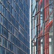 Fine Line Between Buildings Poster