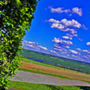 Finger Lakes Country Poster by Elizabeth Hoskinson
