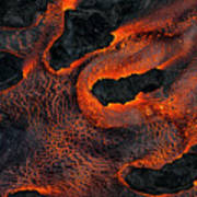 Fingers Of Lava Poster