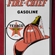 Fire-chief Sign Poster