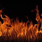 Fire Dancers Poster