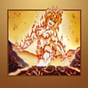 Fire Elemental Poster