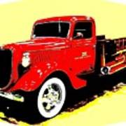 Fire Engine Ok Poster