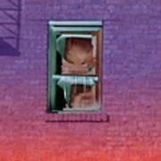 Fire Escape Window 2 Poster