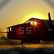 Fire Fighting Aircraft Poster