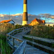 Fire Island Lighthouse Before Sunset Poster