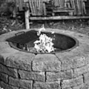 Fire-pit Poster