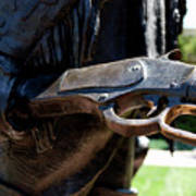 Firearms William Cody Statue Cody Wyoming Poster