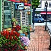 Firefly Lane Bar Harbor Maine Poster