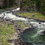 Firehole River 2 Poster