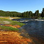 Firehole River Colors Poster