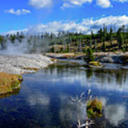 Firehole River Yellowstone Poster