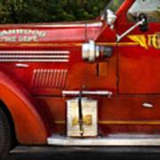 Fireman - Garwood Fire Dept Poster by Mike Savad