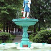 Firemans Monument  Owego New York Poster