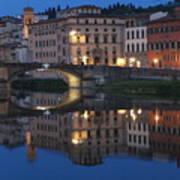 Firenze Blue I Poster