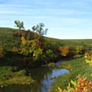 Firesteel Creek Autumn Poster