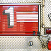 Firetruck Detail I Poster by Kicka Witte - Printscapes