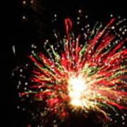Firework Christmas Sparkle Poster