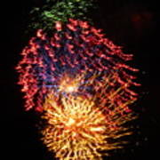Firework Jewel Blast Poster