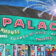 Fireworks At The Palace Poster