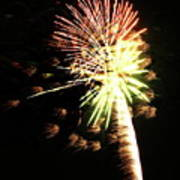 Fireworks From A Boat - 9 Poster