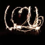 Fireworks Fun Poster by Richard Mitchell
