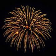 Fireworks - Gold Dust Poster