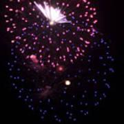 Fireworks Over Puget Sound 10 Poster