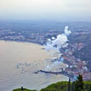 Fireworks Over Sicily Poster