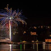 Fireworks Shaldon 2015 Poster
