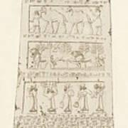 First Side Of Obelisk, Illustration From Monuments Of Nineveh Poster