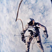 First Spacewalk Poster by Nasa