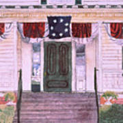 First White House Of The Confederacy Poster