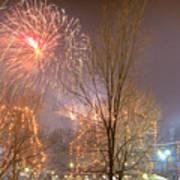 Firstnight Fireworks Poster