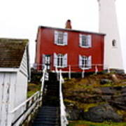 Fisgard Lighthouse Poster
