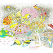 Fish Are Everywhere Poster