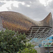 Fish By Frank Owen Gehry - Olympic Village - Barcelona Spain Poster