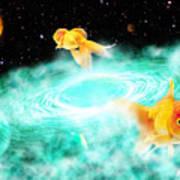 Zen Fish Dream Poster