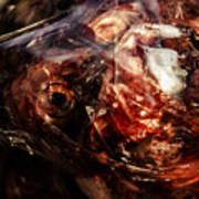 Fish Heads 02 Poster by Grebo Gray