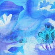Fish In Blue Poster