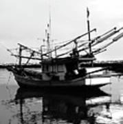 Fisherman's Boat Poster