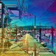 Fishermans Terminal Pier 2 Poster